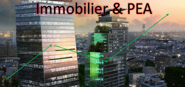 investir immobilier PEA
